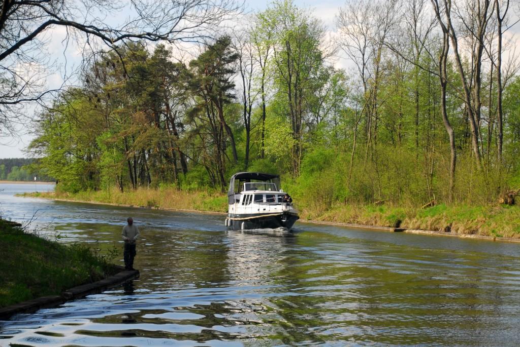 Bootsfahrt von See zu See
