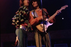 MICK JAGGER RON WOOD